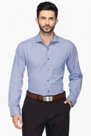 Van Heusen Mens Contemporary Fit Slub Shirt