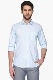 Van Heusen Mens Slim Fit Printed Shirt