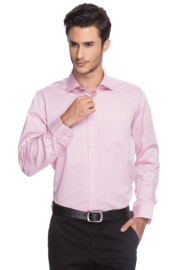 Van Heusen Mens Full Sleeves Slim Fit Formal Solid Shirt