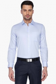 Van Heusen Mens Solid Regular Collar Shirt
