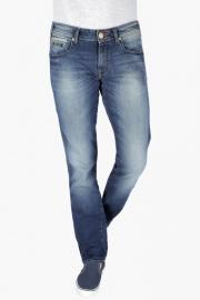 Mens Regular Fit 5 Pocket Heavy Wash Jeans (rockville Fit)