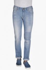 Mens Slim Fit 5 Pocket Mild Wash Jeans (skanders Fit)