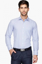 Van Heusen Mens Regular Collar Check Shirt