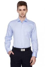 Van Heusen Mens Regular Collar Slub Shirt
