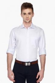 Van Heusen Mens Regular Collar Dotted Shirt