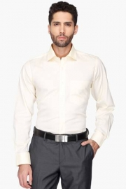 Van Heusen Mens Solid Regular Collar Shirt