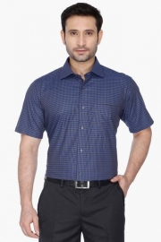 Van Heusen Mens Regular Collar Check Shirt