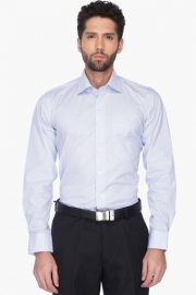 Van Heusen Mens Regular Collar Printed Shirt