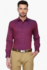 Van Heusen Mens Regular Collar Solid Shirt