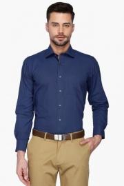 Van Heusen Mens Regular Collar Printed Shirt