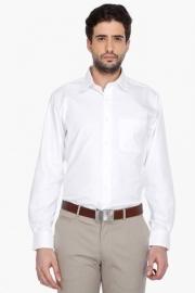 Van Heusen Mens Full Sleeves Formal Solid Shirt