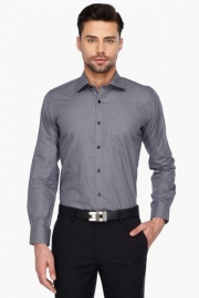 Van Heusen Mens Full Sleeves Formal Printed Shirt
