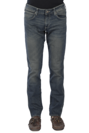 Mens 5 Pocket Regular Fit Stretch Jeans