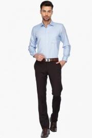 Van Heusen Mens Full Sleeves Formal Printed Shirt