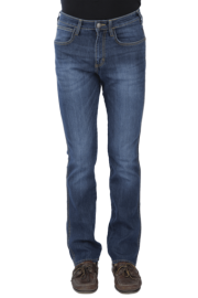 Mens Slim Fit Straight Jeans