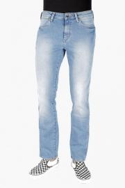 Mens Slim Fit 5 Pocket Heavy Wash Jeans (millard Fit)