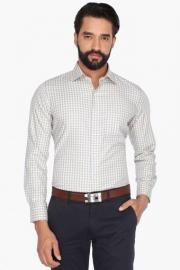 Van Heusen Mens Full Sleeves Formal Check Shirt