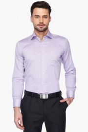 Mens Full Sleeves Slim Fit Formal Fill-a-fill Shirt