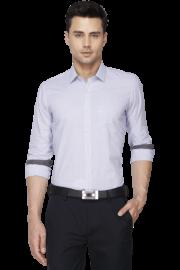 Mens Full Sleeves Slim Fit Formal Check Shirt
