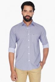 Mens Full Sleeves Casual Printed Shirt