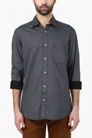 Mens Tailored Fit Printed Shirt