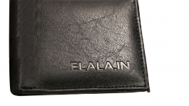 Elala Men Casual Black Wallet