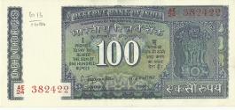 G-29 S Jagnbathan 100 Rs Unc Notes