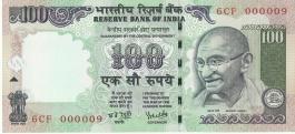 G-61 Dr Y V Reddy 100 Rs Unc Notes  000009