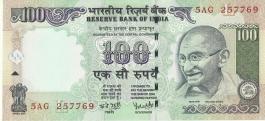G-63 Dr Y V Reddy 100 Rs Unc Notes