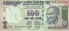 G-64 Dr Y V Reddy 100 Rs Fine