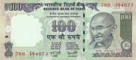 G-70 Dr Y V Reddy 100 Rs Unc Notes