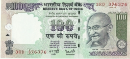 G-72 Dr Y V Reddy 100 Rs Unc Notes