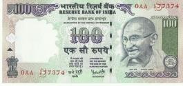 G-78 Dr Y V Reddy 100 Rs Unc Notes