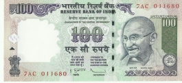 G-79 D. Subbarao 100 Rs Unc Notes