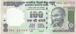 G-89 D.subbarao 100 Rs Unc Notes