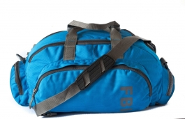 Fbi Polyester Blue Softsided Travel Duffle Bag