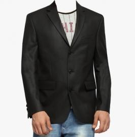Suitltd Black Solid Blazer