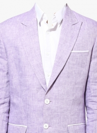 Solid Purple Blazer
