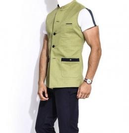 The Olive Stone Cotton Jacket