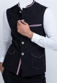 Man Linen Nehru Jacket