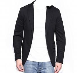 Fashion Black Slim Fit Blazer