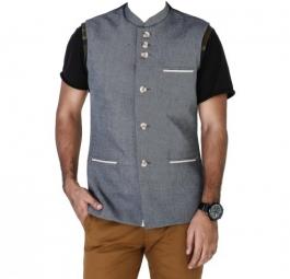 Grey  Linen Jacket