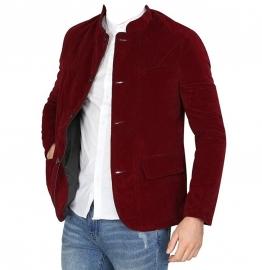 Velvet Blazer For Men (maroon)