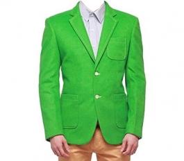 Green Color Blazer For Men