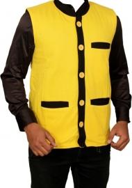 Chip Solid Party Men's Nehru Jacket
