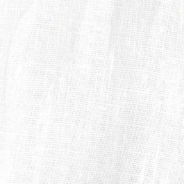 White Blended Linen Fabric For Kurta/ Shirt