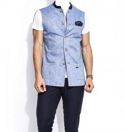 Nehru Lily Linen Jacket