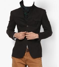 Solid Brown Blazer