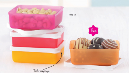 Tupperware Mini Square Away Buy 3 Get 1 Free