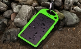 Portable Solar Power Bank For Smartphone